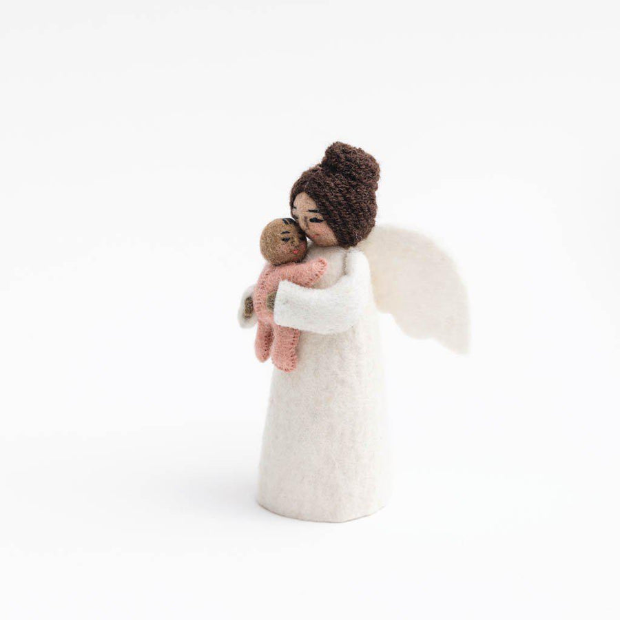 Brown Mother's Presence Angel Pink