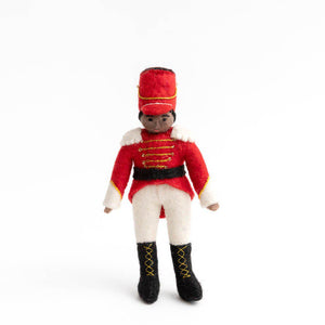 Brown Nutcracker Prince Ornament