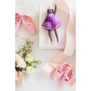 Pink Center Stage Ballet Shoes Ornament