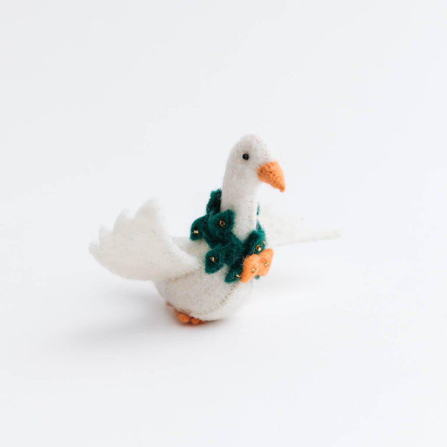 Christmas Goose Ornament