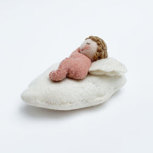 Pink Slumber Cloud Babe Ornament