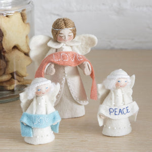 Season's Blessing Joy Angel Ornament