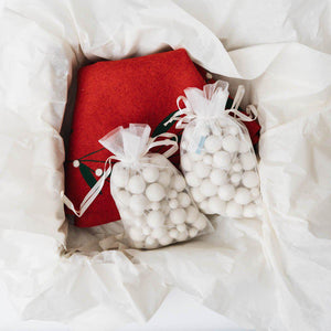 Christmas in a Box Decorating Kit - Red Skirt