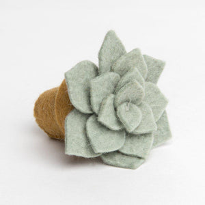 Sage Desert Rose Ornament