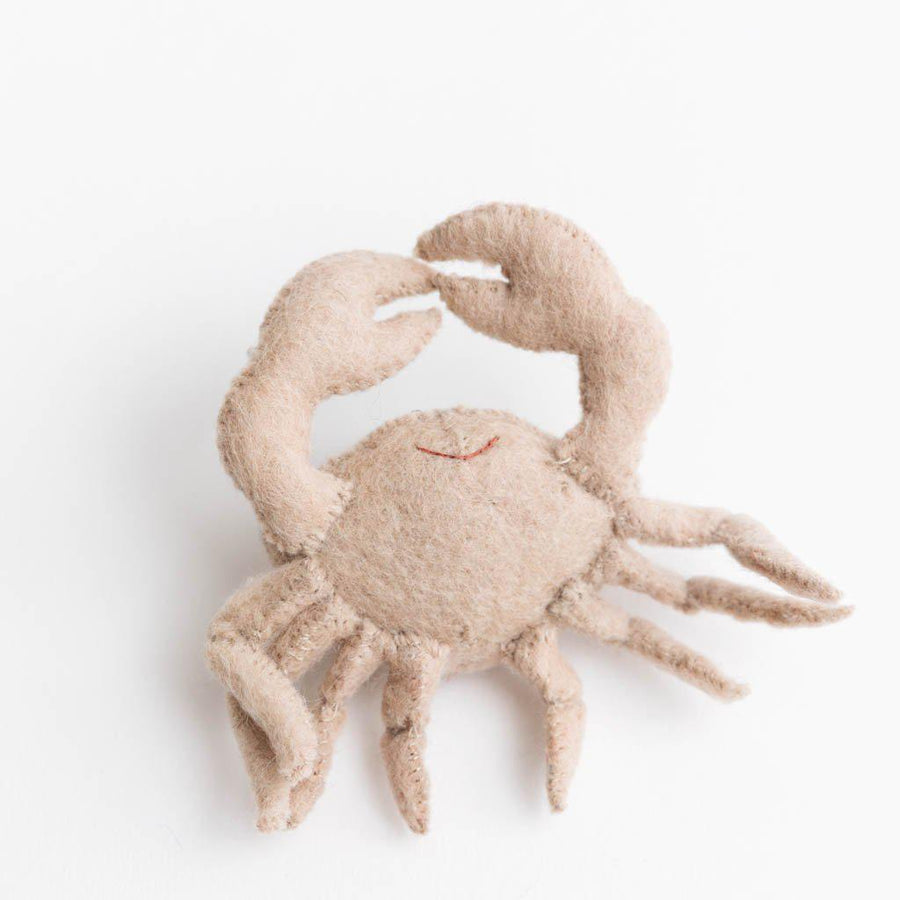 Eggshell Constellation Crab Ornament