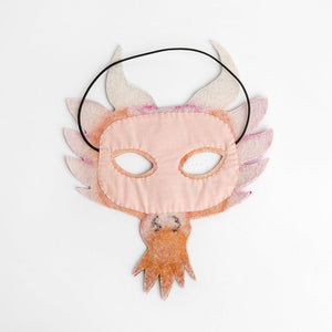 Fairy Tale Dragon Mask - Pink