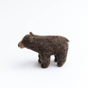 Brown Bear Forest Wanderer Ornament
