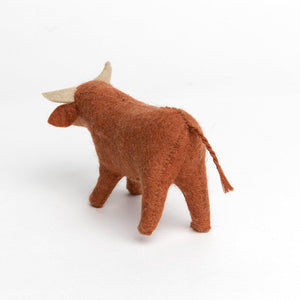 Gentle Manger Bull Ornament