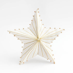 Gold Star Burst Tree Topper Large