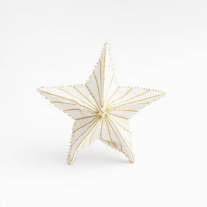 Gold Star Burst Tree Topper Small