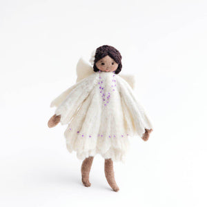 Hibiscus Blush Angel Ornament