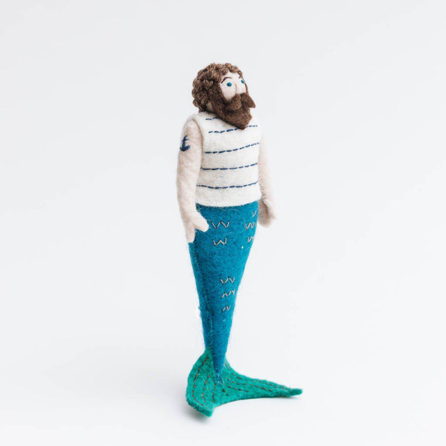 High Seas Sailor Merman Ornament