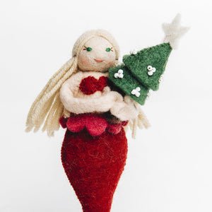 Holiday Tidings Mermaid