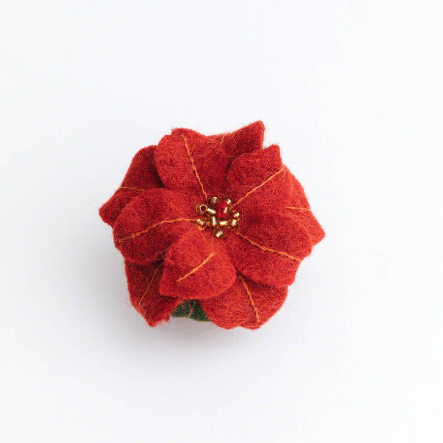Holiday Bloom Poinsettia Ornament