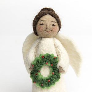 Brown Holiday Joy Angel