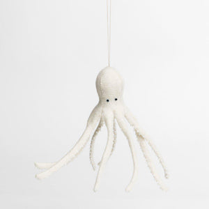Long Legs Octopus - White