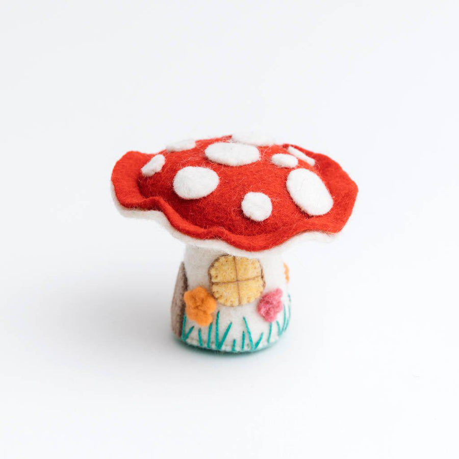 Magic Fairy House Mushroom Ornament
