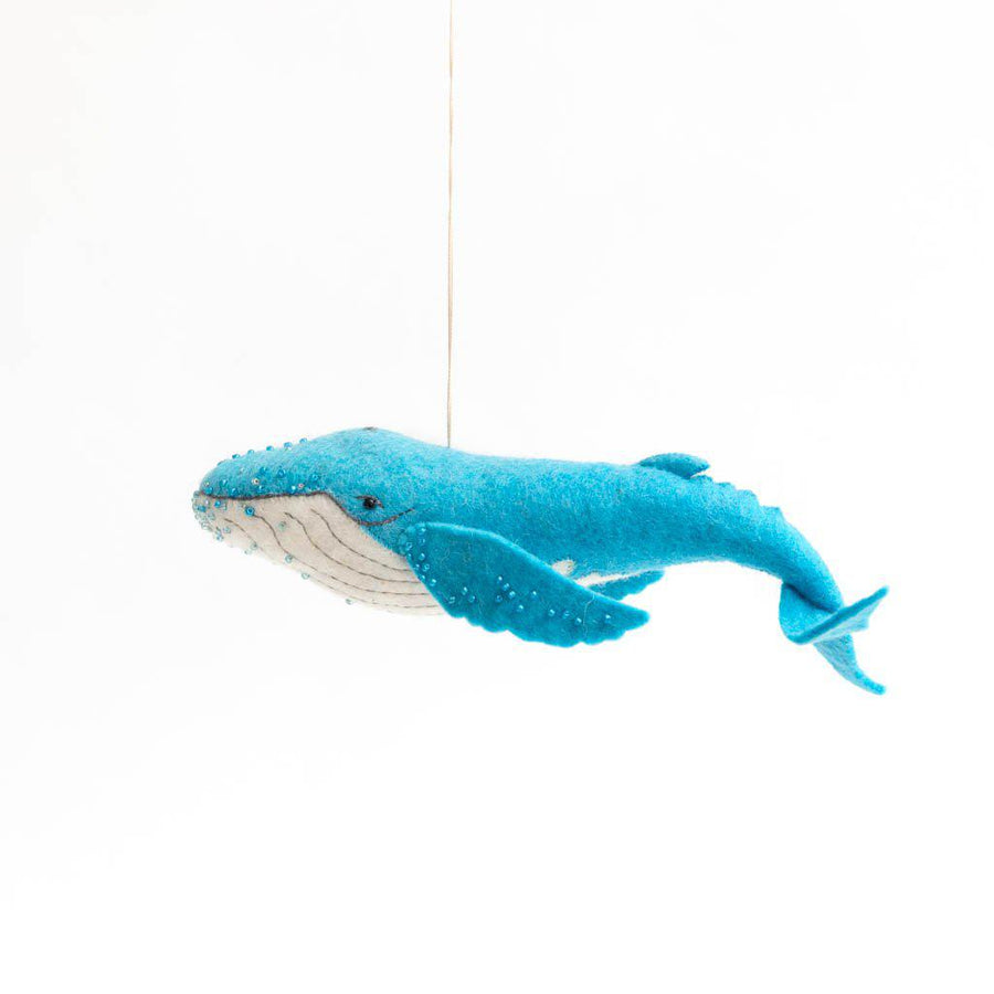 Majestic Wave Humpback Ornament