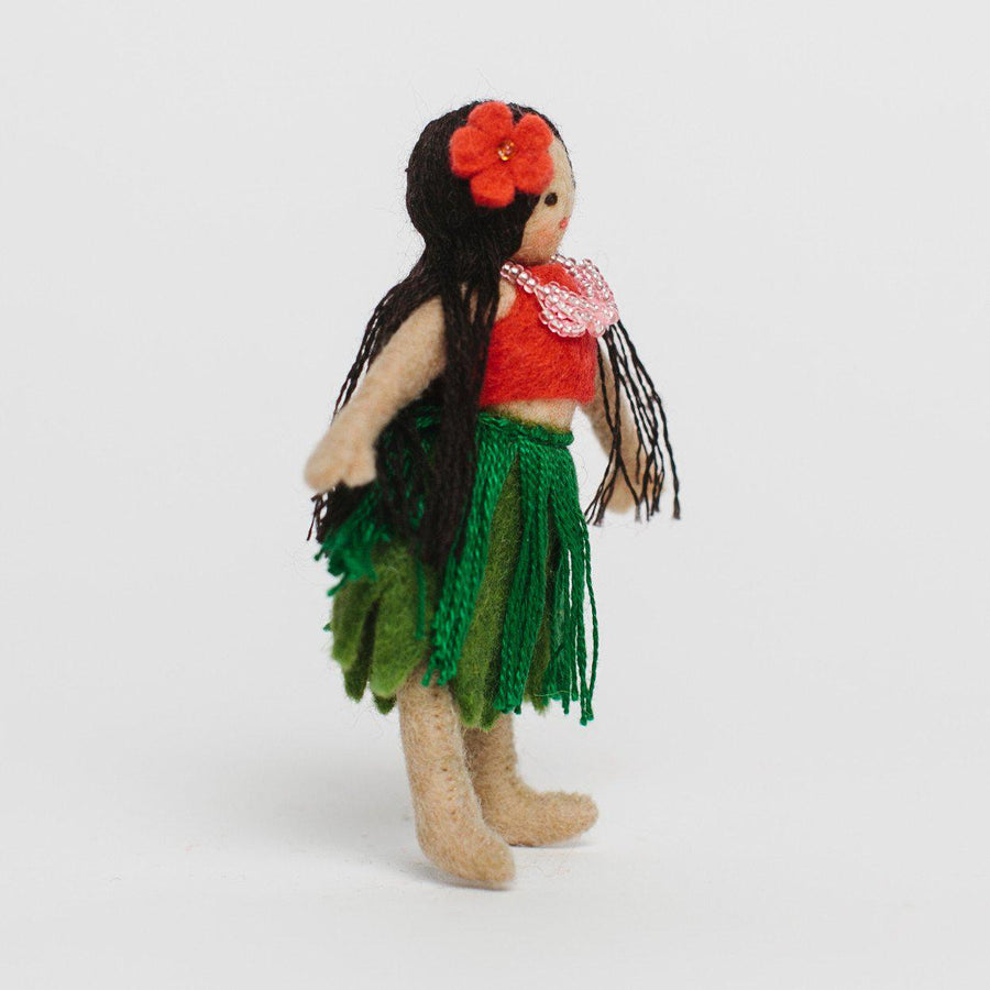 Maui Maiden Hula Girl Ornament