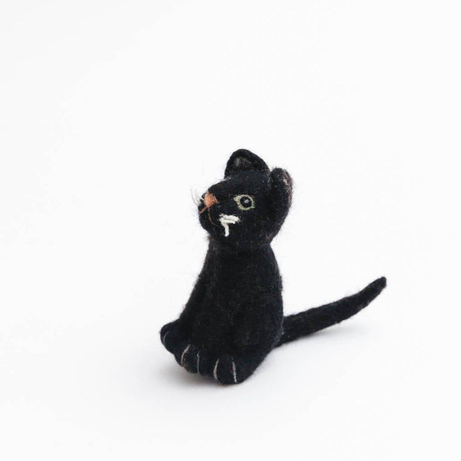 Midnight Cat Ornament