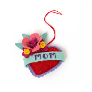 Mom Forever Tattoo Ornament