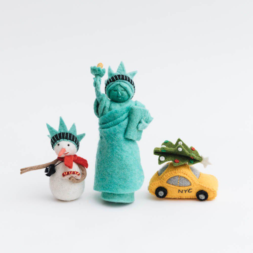 New York Taxi Holiday Ornament