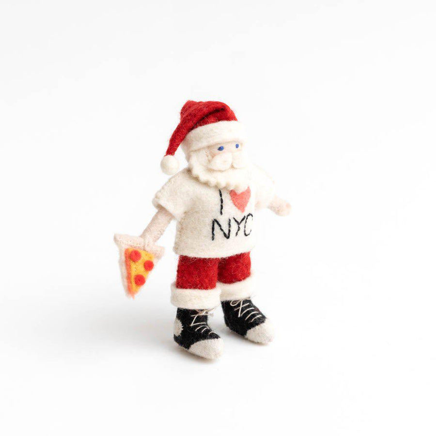 New York, New York Santa Ornament