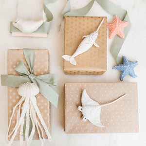 Sherbet Starfish Ornament
