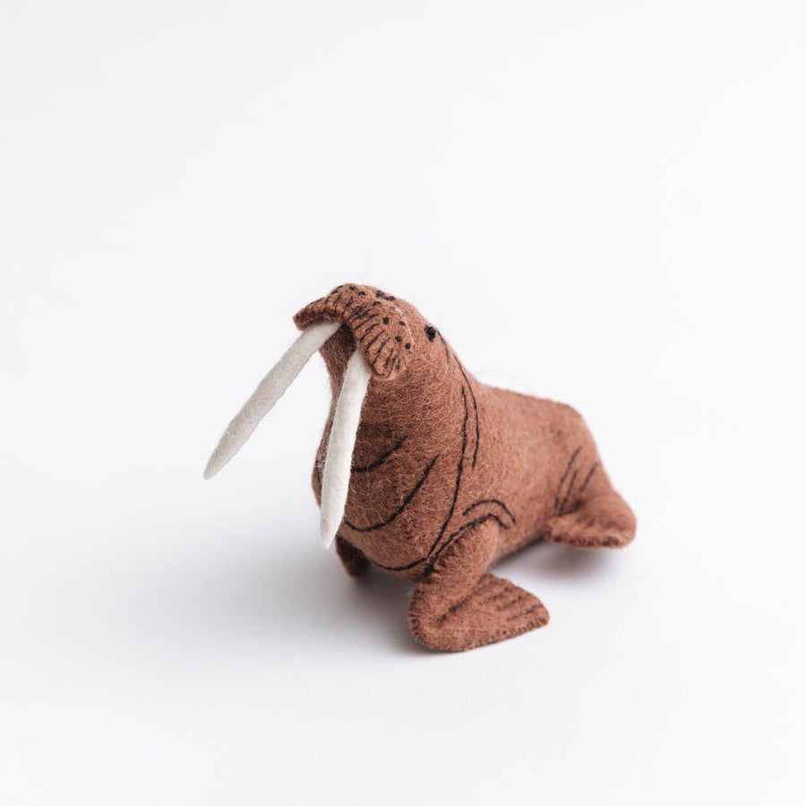 Northern Lights Walrus Ornament