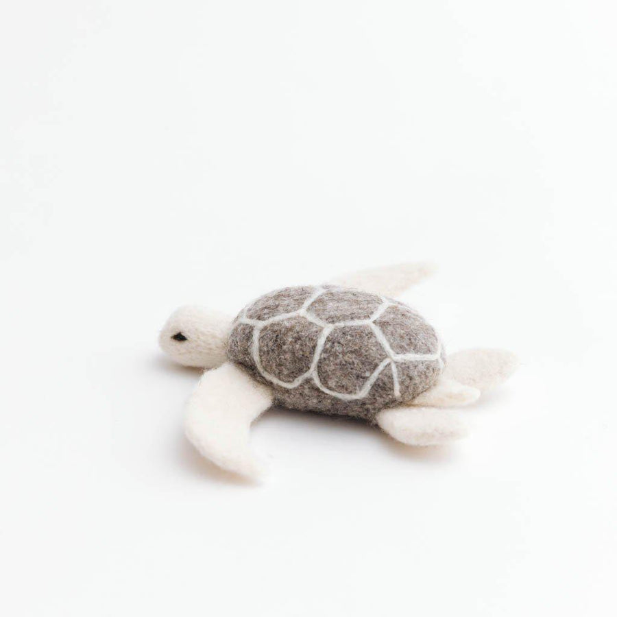 Ocean Wave Turtle Ornament