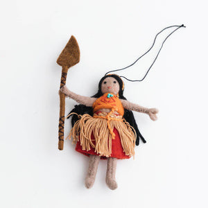 Oceania Girl Ornament