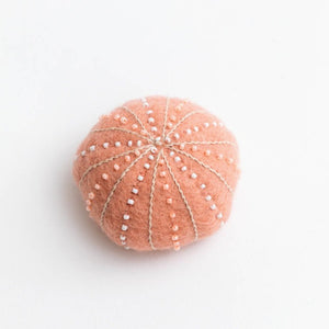 Pink Sea Urchin Ornament