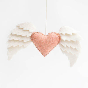 Pink Wild at Heart Ornament