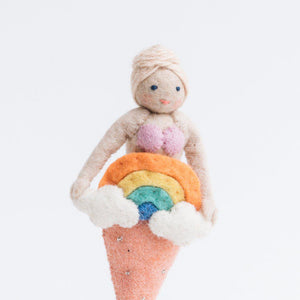 Rainbow Days Mermaid Ornament
