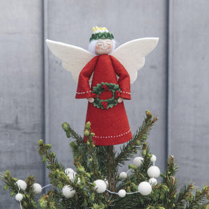 Red Beauty Santa Lucia Topper