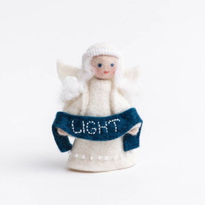 Season's Blessing Light Angel Ornament