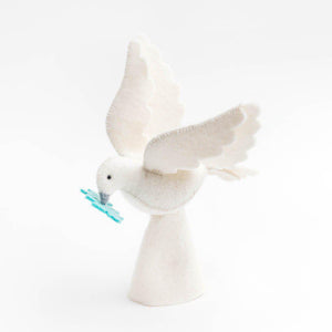 Small Season of Peace Dove Tree Topper