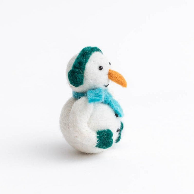Snow Day Fun Snowman Ornament