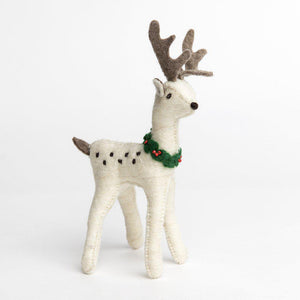Snow Buck Reindeer - Large