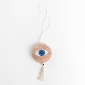 Pink Spirit Eye Ornament