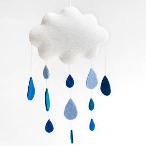 Spring Showers Cloud Medium Wall Hanging