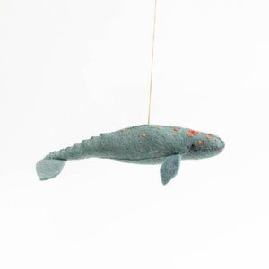 Spy Hop Grey Whale Ornament