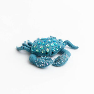 Stone Grey Constellation Crab Ornament
