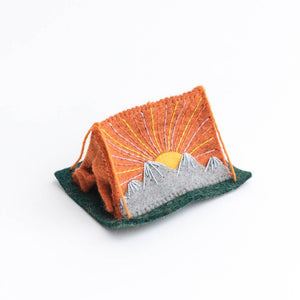Sunrise Tent Ornament