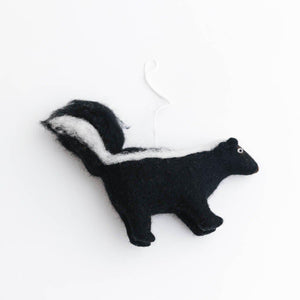 The Woodland Skunk Ornament
