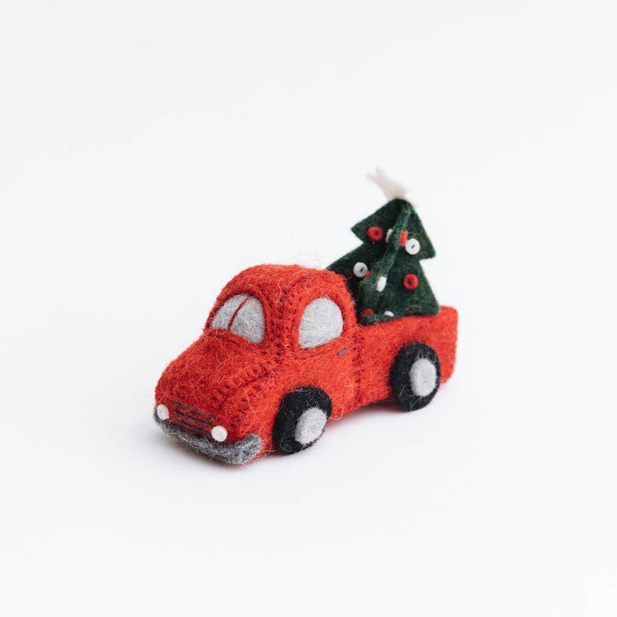 Tree Farm Return Truck Ornament