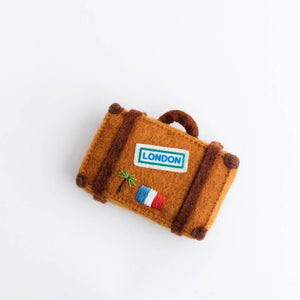 Wanderlust Suitcase Ornament