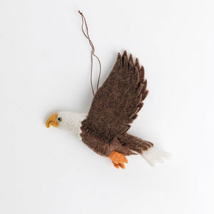 Wind Rider Bald Eagle Ornament