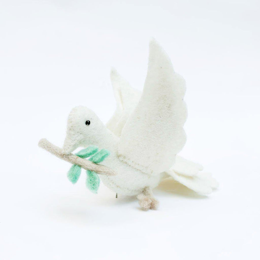 Wings of Peace Dove Ornament