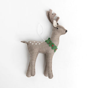 Winter Buck Reindeer - Large